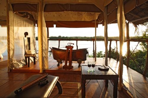 Et si vous preniez un bain… à Selous, Tanzanie