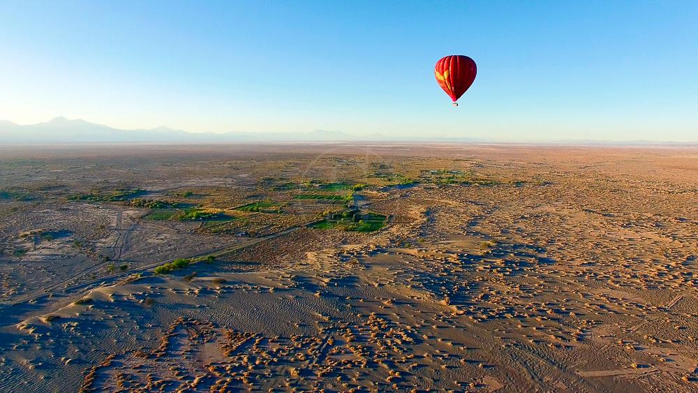 Survoler le Désert de l'Atacama en ballon