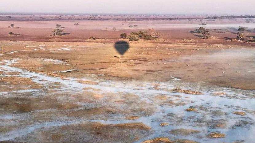 Busanga Balloon Safari, Zambie