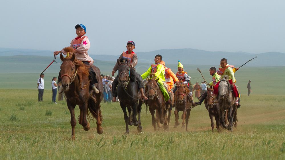 Le Naadam, festival traditionnel en Mongolie