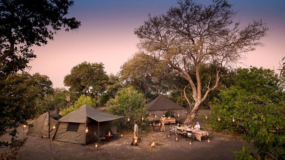 Bivouac de luxe en Afrique