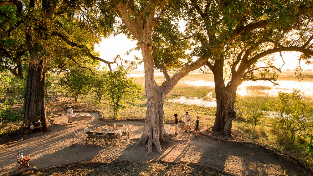 Safari itinérant au Botswana © Andbeyond