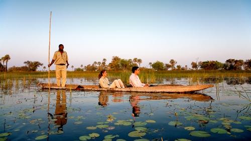 Oddballs Camp, Botswana © Courteau