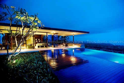 Alila Villa Uluwatu, Indonésie