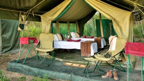 Campement Footsteps Ker & Downey dans le Delta de l'Okavango, Botswana