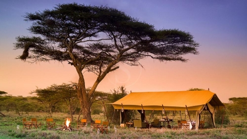 Serengeti Under Canvas, Tanzanie © &Beyond