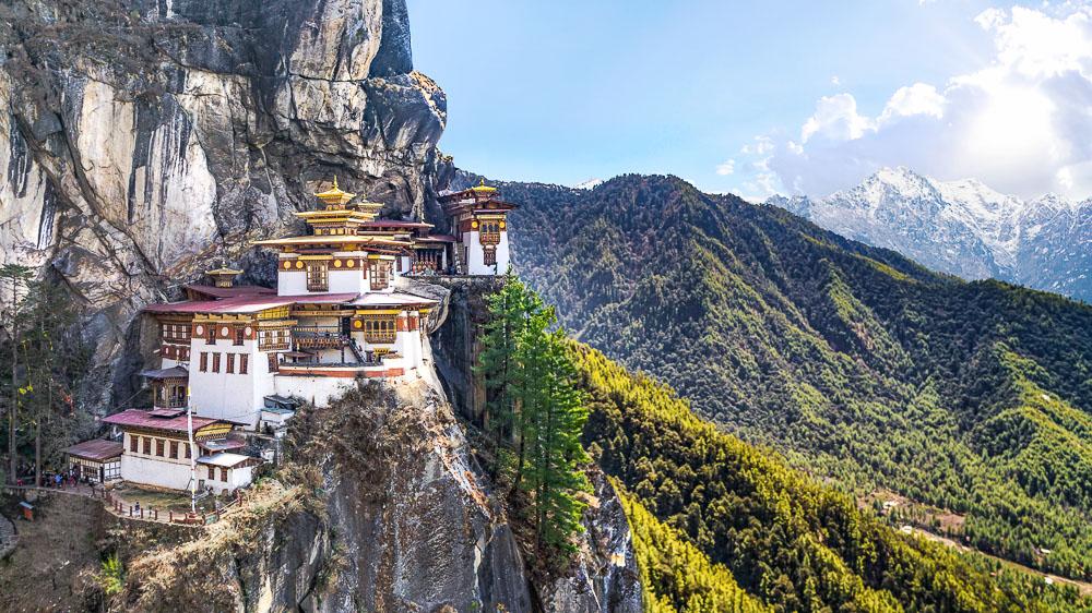 Monastère de Taktshang, Tiger's Nest, Bhoutan