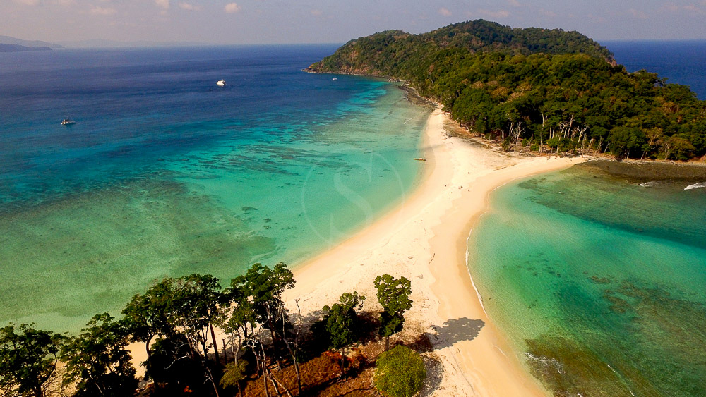 Croisière vers îles d'Andaman