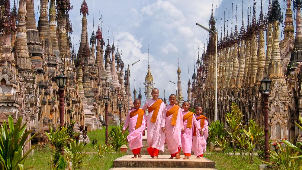 Pagode Kakku, Myanmar