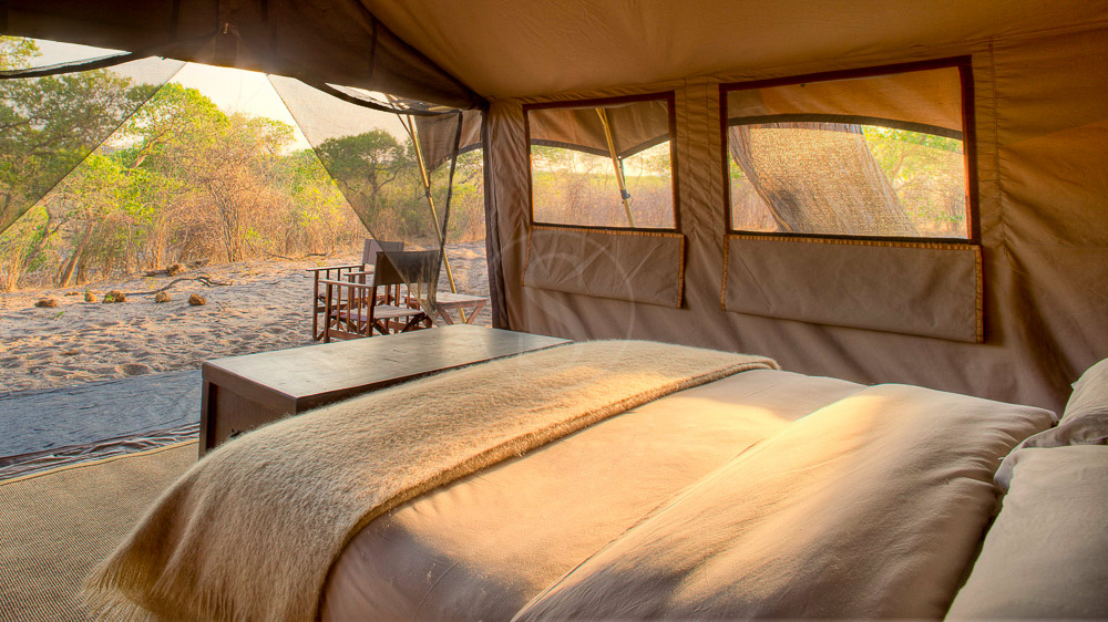 Savute Under Canvas, Botswana © &Beyond S. Mann