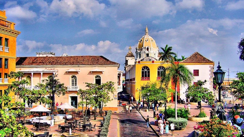 Carthagène, Colombie © Olivier Dufeu