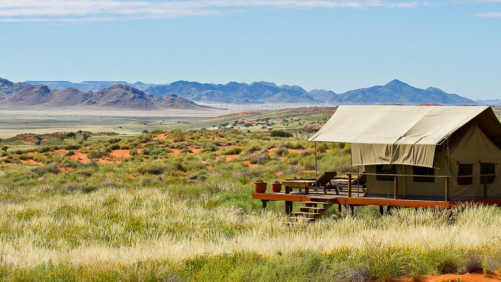 Wolwedans Dune Camp, Namibie