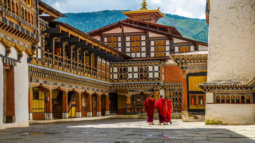 Ambiance du Bhoutan