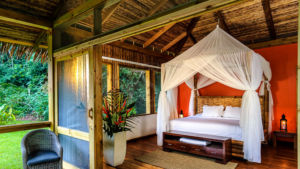 River Suite du Pacuare Lodge, Costa Rica © Pacuare