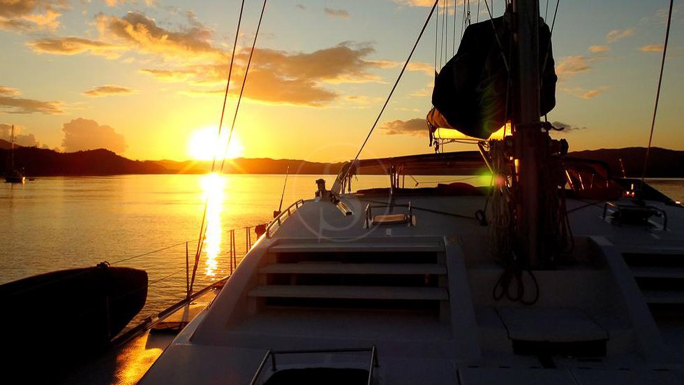 Catamaran Blue Maki, Madagascar