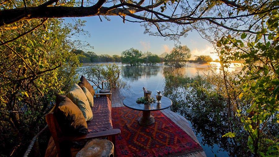 Sindabezi Island, Zambie