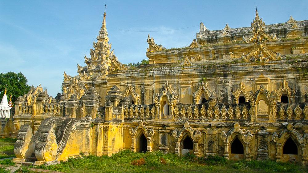 Monastère de Okkyaung, Myanmar