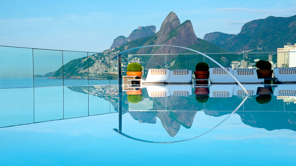 Hotel Fasano de Rio, Brésil © Jacqueline Knabben