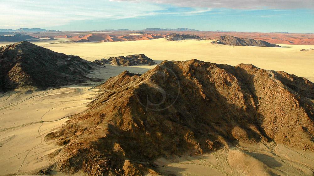 Dunes vers Sesriem, Namibie