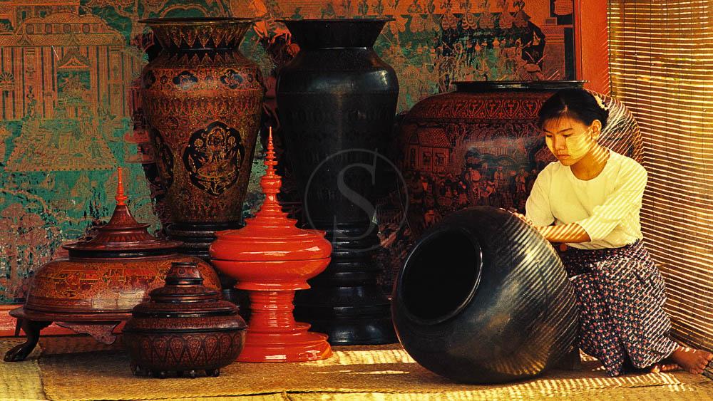 Artisanat birman