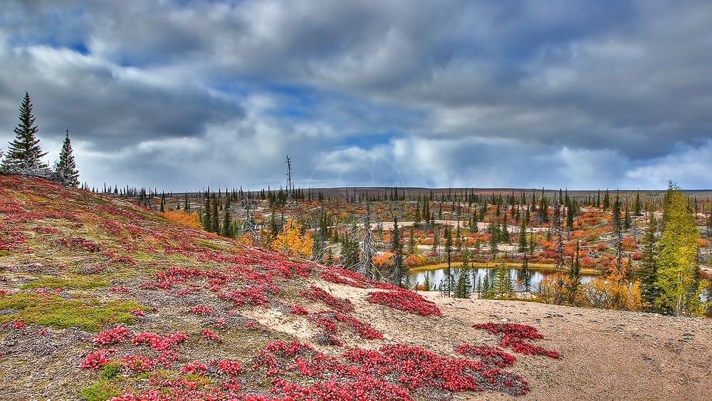 Lodge au Nunavut, Canada