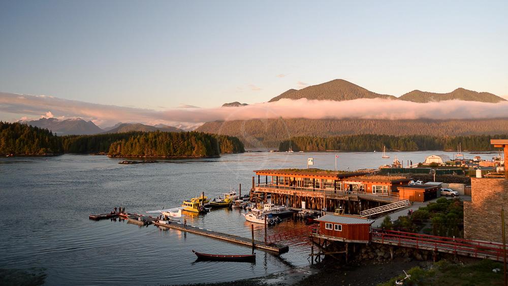 Tofino sur l'île de Vancouver, Canada
