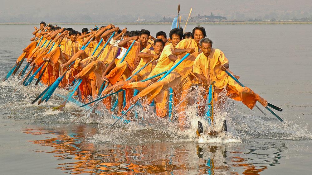 Ambiance du Lac Inlé, Birmanie