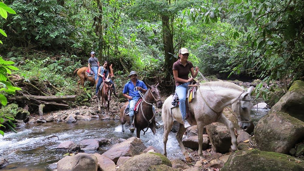 Balades à cheval à Arenal, Costa Rica