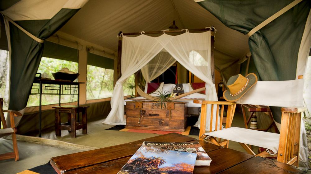 Mara Bush Camp, Kenya