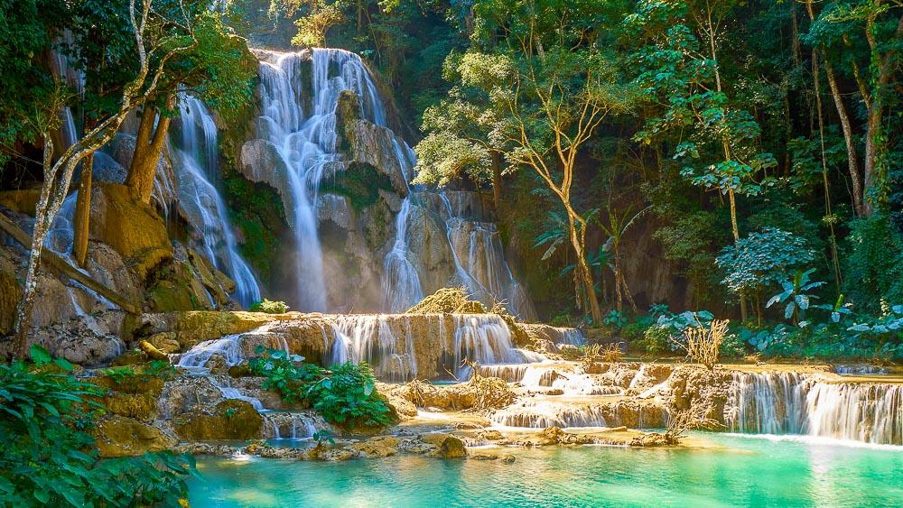 Cascades de Kuang Si, Luang Prabang, Laos