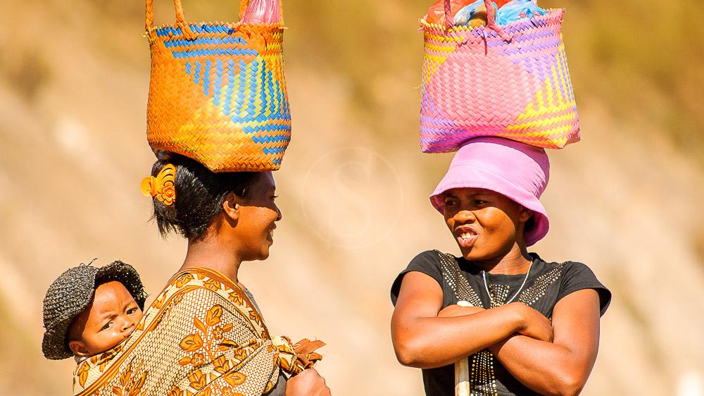 Marché à Antananarivo, Madagascar