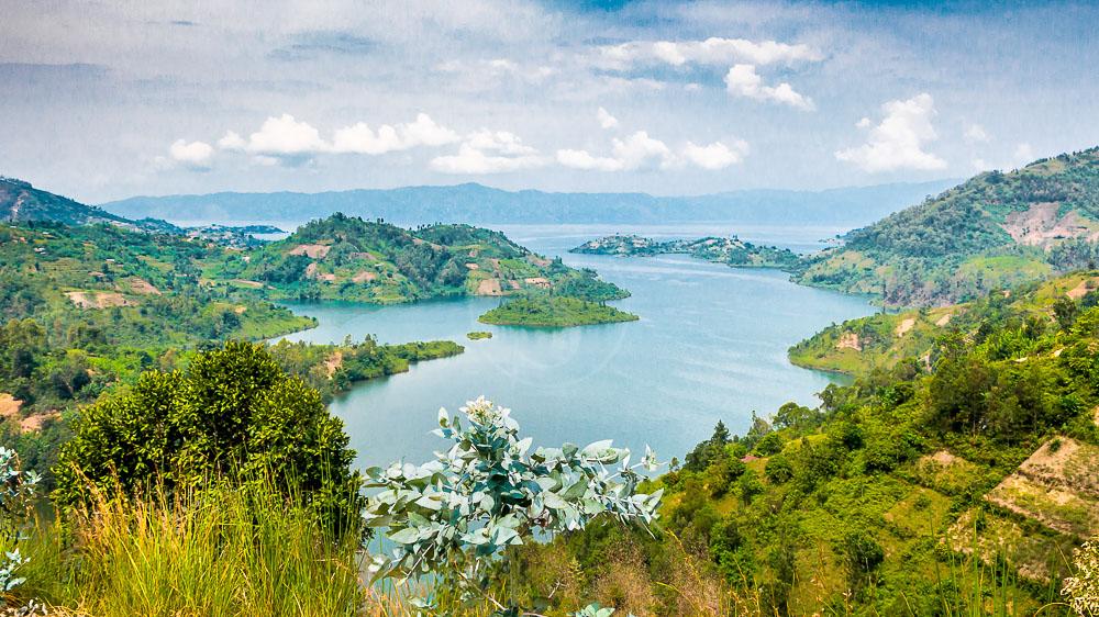 Vue sur le Lac Kivu, Rwanda