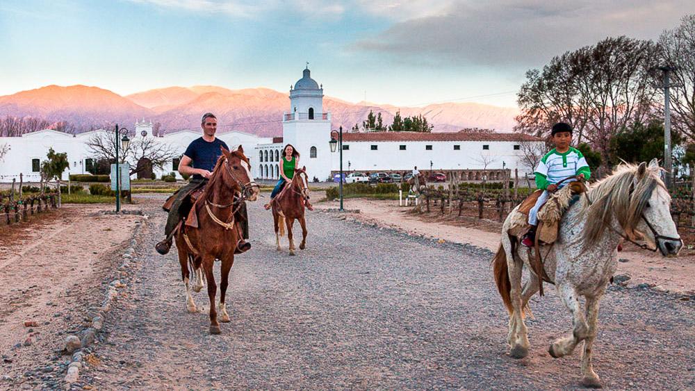 Patios de Cafayate, Argentine