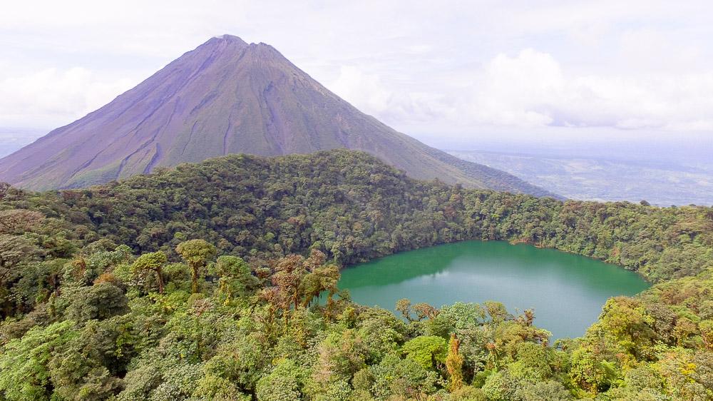 Excursion au Cerro Chato, Arenal, Costa Rica