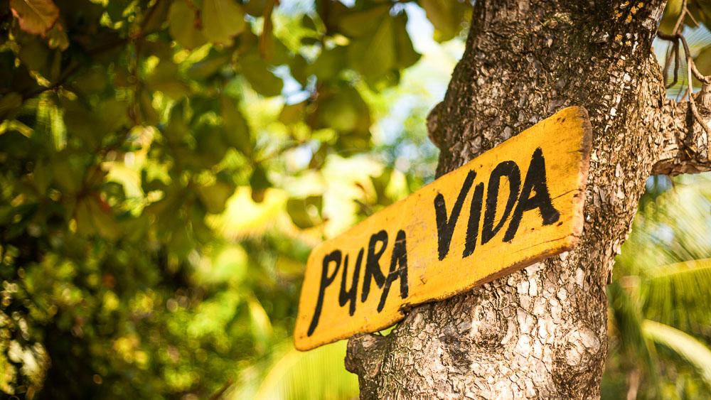 Pura Vida ! Costa Rica