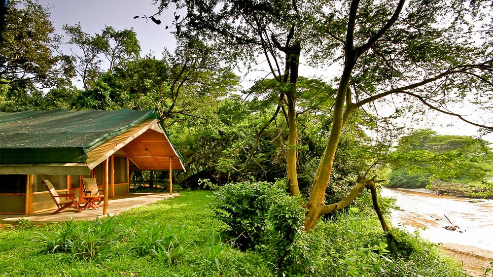Ishasha Wilderness Camp, Ouganda