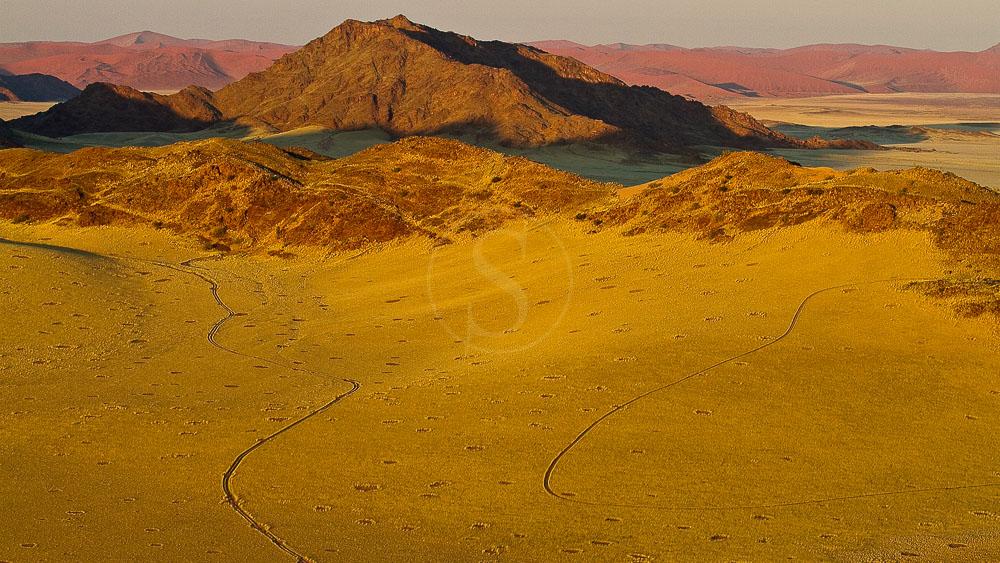 Survol du Namib en ballon, Namibie