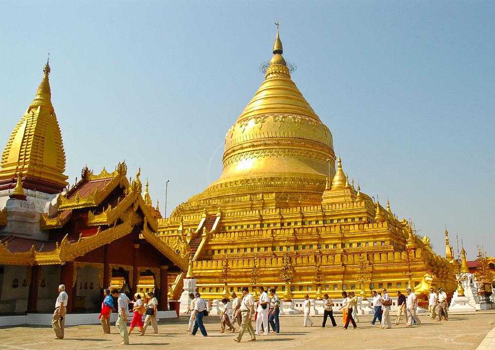Pagode Shwe Sigon, Mynamar