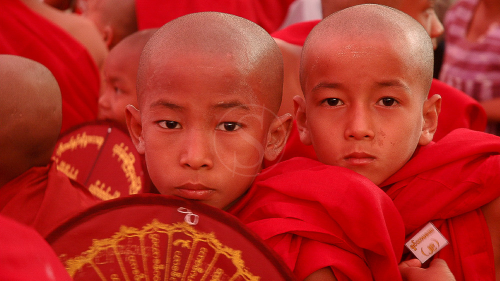 Monastère de Kyaikhawaing, Bago, Myanmar