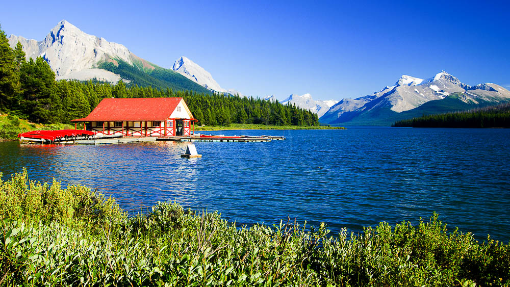 Rocheuses canadiennes vers Jasper, Canada