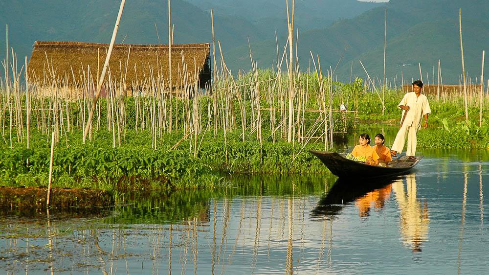 Ambiance zen sur le lac Inlé, Birmanie
