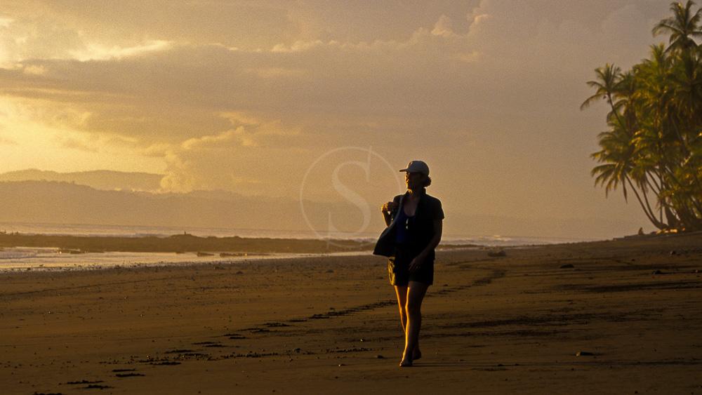 Une plage du parc de Corcovado, Costa Rica