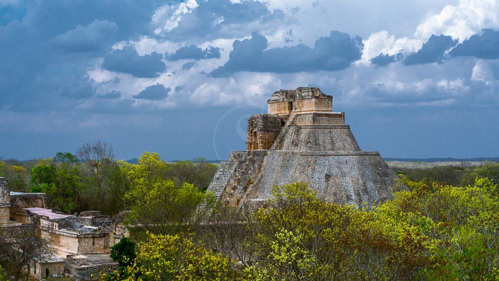 Pyramides de Uxmal, Mexique