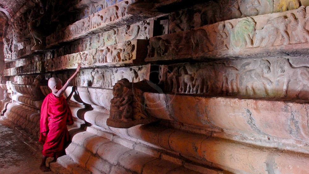 Temple de Shittaung construit au 16ème siècle, Myanmar
