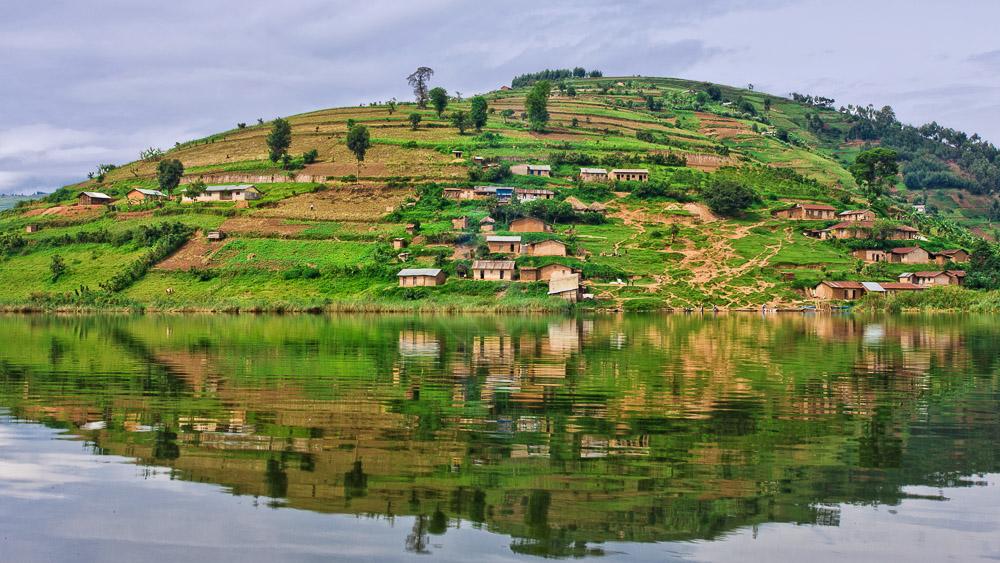 Lac Bunyonyi, vers Bwindi, Ouganda