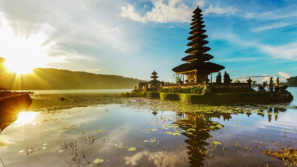Pura Ulun Danu Temple, Bali, Indonésie