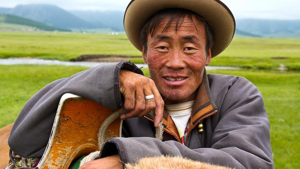 Randonnée à cheval, Mongolie