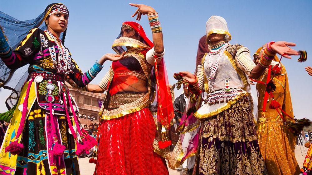 Camel Festival de Bikaner, Inde