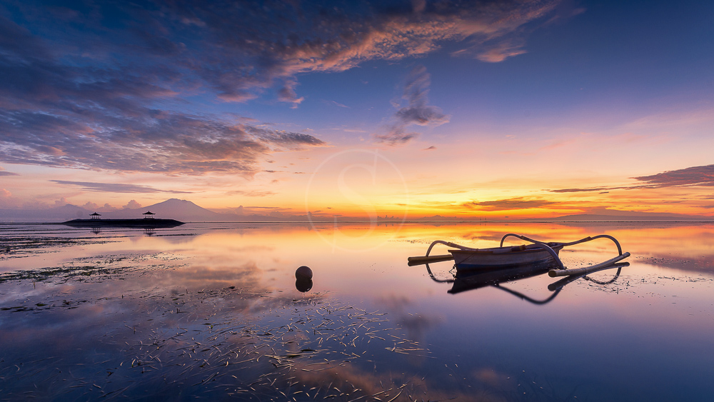 Plage de Sanur, Bali, Indonésie