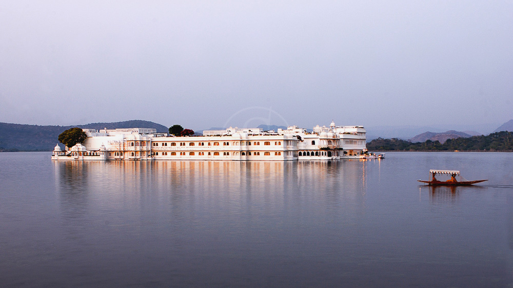 Taj Lake Palace à Udaipur, Inde